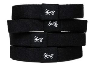 Hair Ties For Guys - black