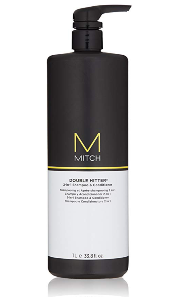 MITCH Double Hitter 2-in-1 Shampoo and Conditioner