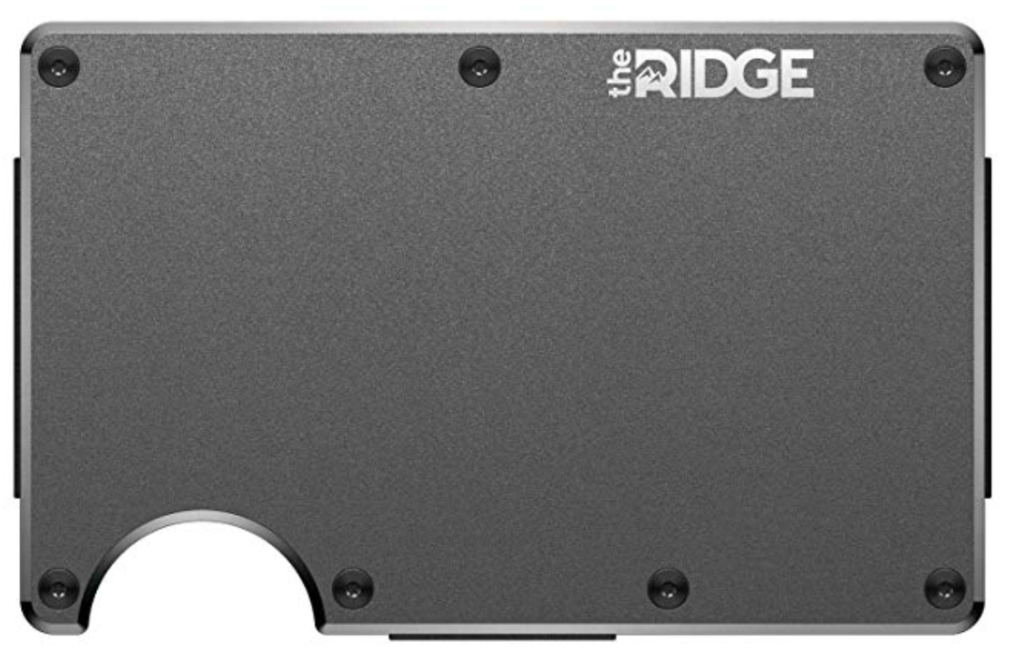 The Ridge Minimalist Metal Wallet