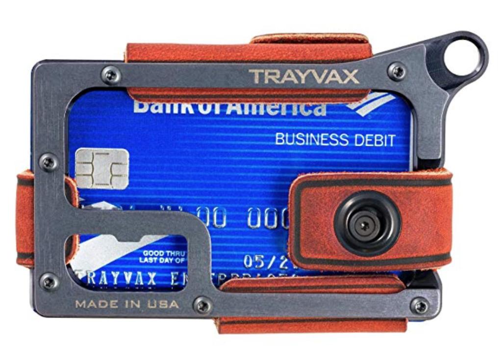 Trayvax Contour Minimalist Wallet