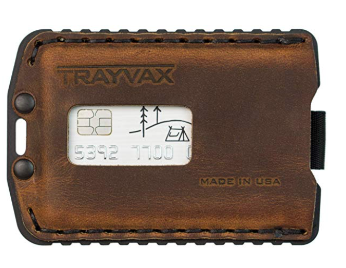 Trayvax Ascent leather wallet