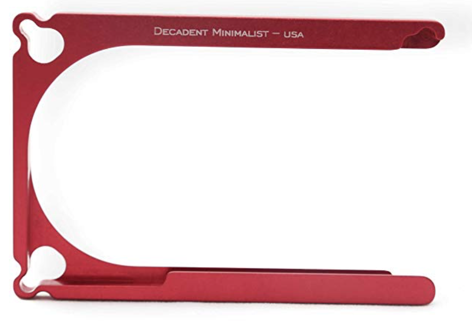 Decadent Minimalist Wallet Red