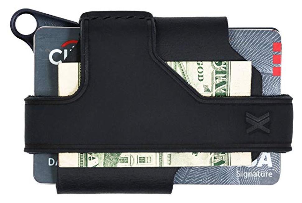 Trayvax Contour minimalist wallet back