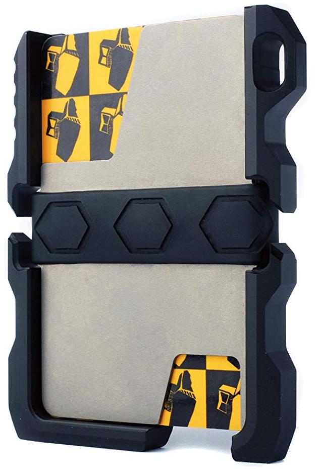 Calti Tactical EDC metal wallet front
