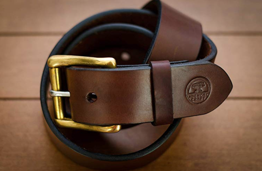 abc working man's belt brown
