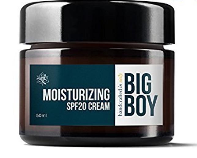 Big Boy Men's Facial Moisturizer With SPF 20