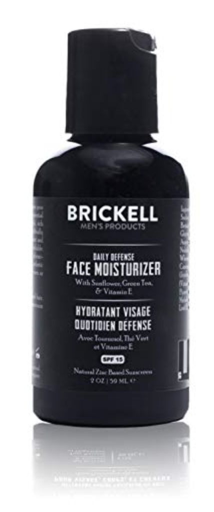 Brickell Daily Defense Face Moisturizer For Men With SPF 15