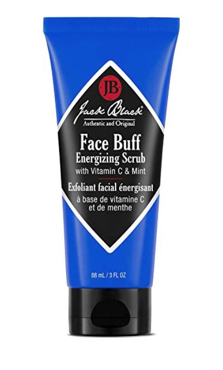 Jack Black Face Buff Energizing Scrub - Exfoliating Face Wash 3 oz tube