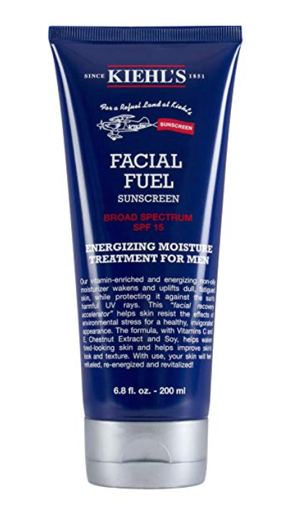 Kiehl's Facial Fuel best face moisturizer for men With SPF 15