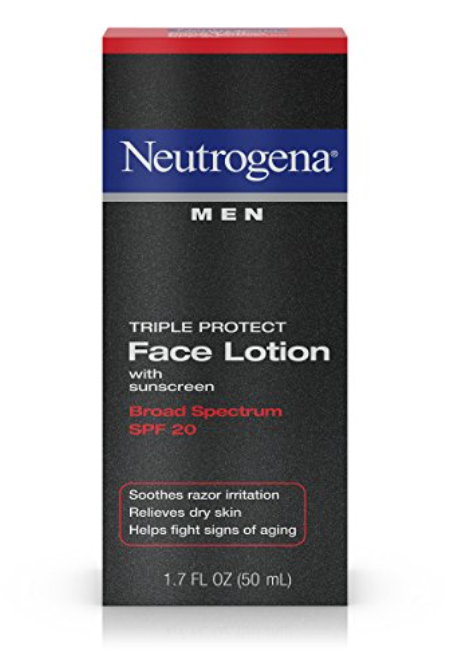 Neutrogena Triple Protect Men's Face Lotion With SPF 20