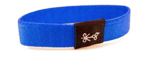 hair ties for guys solid blue