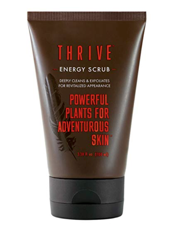 Thrive Energy Scrub - Exfoliating Men's Face Wash 3 oz tube