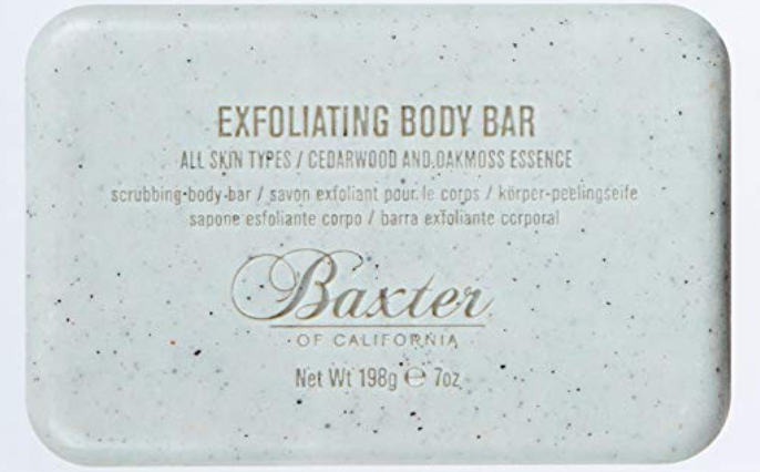 baxter of California men's exfoliating bar soap