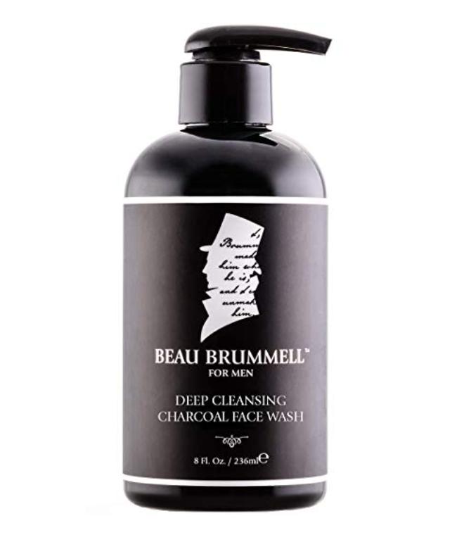 beau brummell charcoal face wash for men