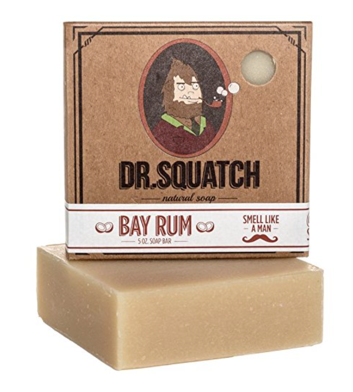 dr squatch bay rum soap