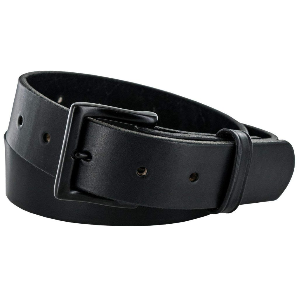 hank's everyday no break belt black