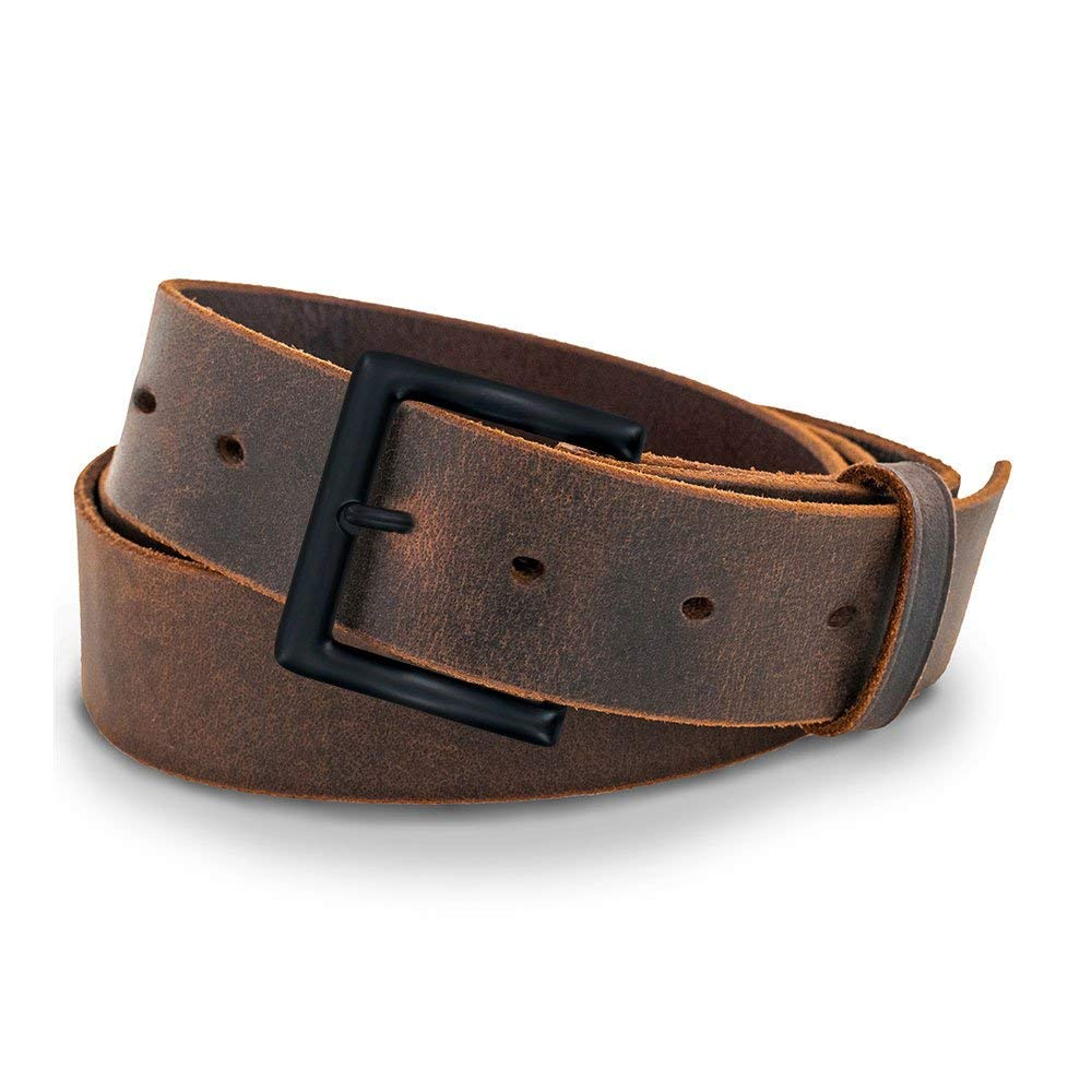 hank's jean belt brown best casual leather belt for men