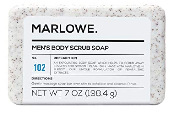 marlowe no. 102 mens body scrub