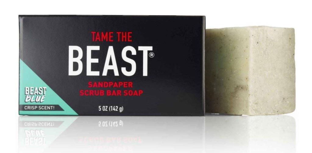 Tame the Beast sandpaper scrub bar soap