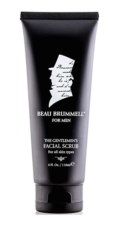Beau Brummell Men's Facial Scrub 4 oz bottle