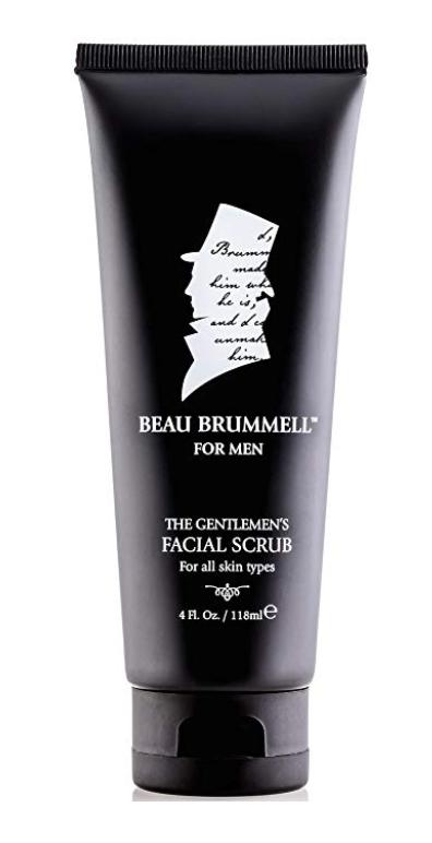 Beau Brummell Men's Facial Scrub 4 oz bottle