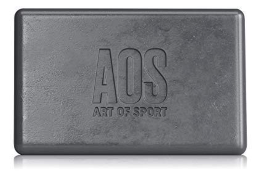 Art of Sport best charcoal bar soap for men front with logo