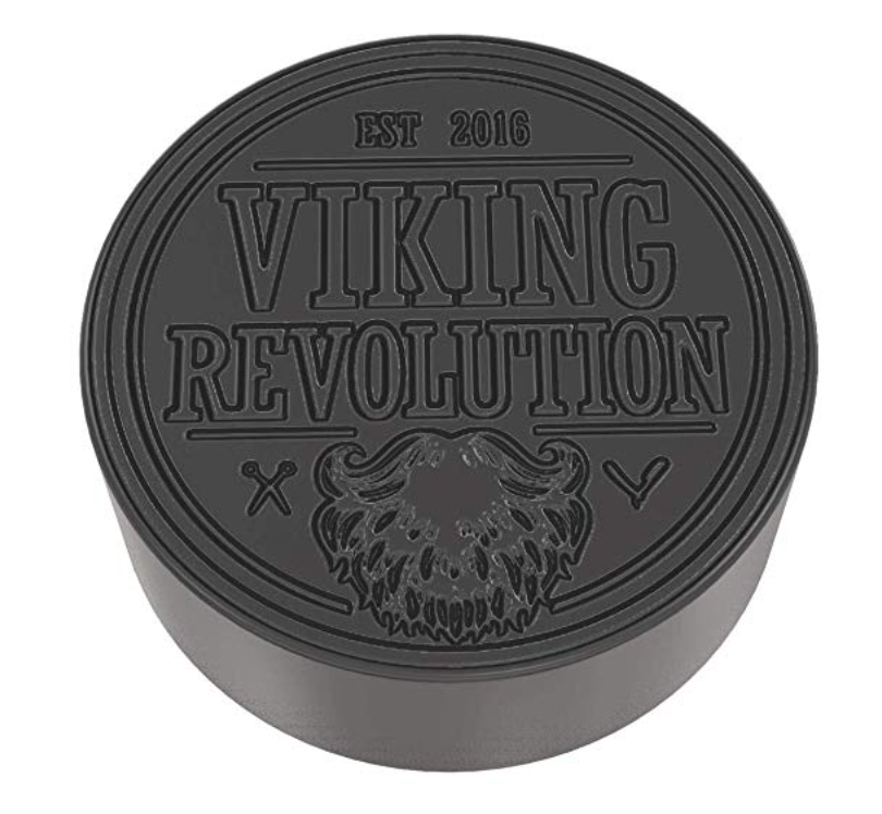 Viking Revolution best charcoal bar soap for men front with logo