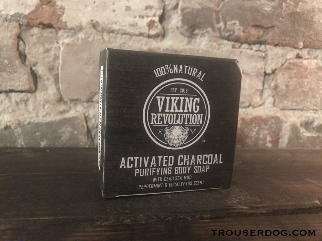Viking Revolution bar soap in packaging