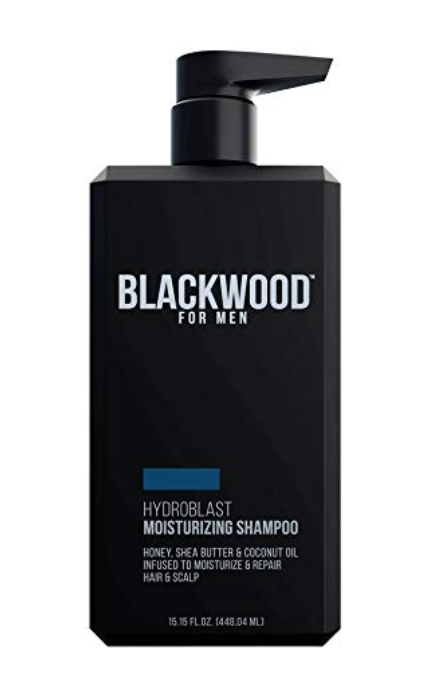 Blackwood Hydroblast Moisturizing Shampoo for men with long hair 15.15 oz bottle