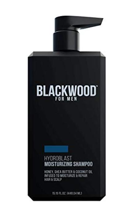 Blackwood Hydroblast Moisturizing Shampoo for men with long hair 15.15 oz bottle