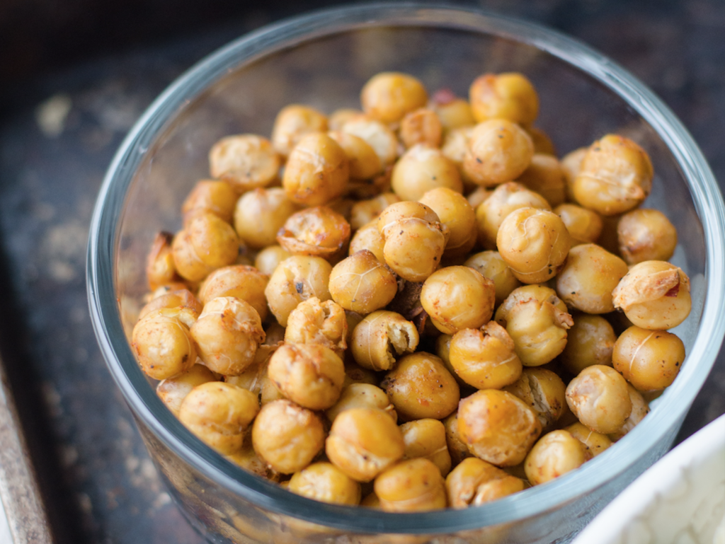 bowl of chick peas