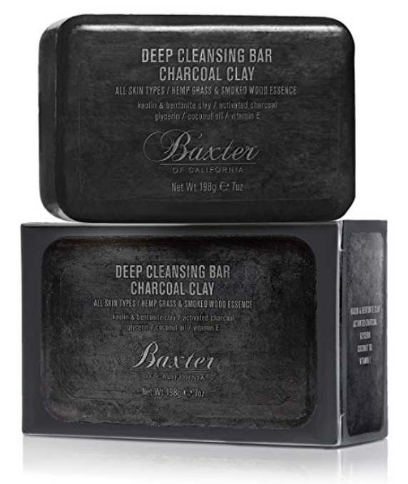 Baxter of California charcoal clay bar for acne 7 ounces