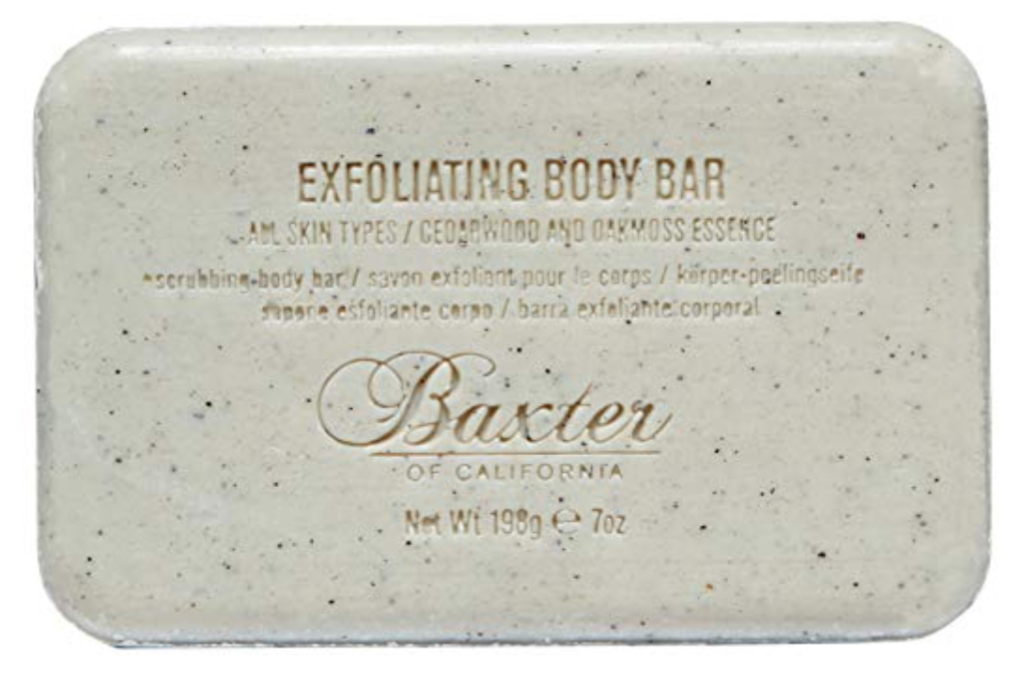Bar of Baxter of California exfoliating bar soap