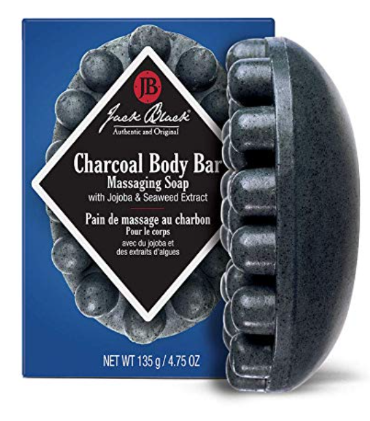 Jack Black charcoal body bar for men 4.75 ounces