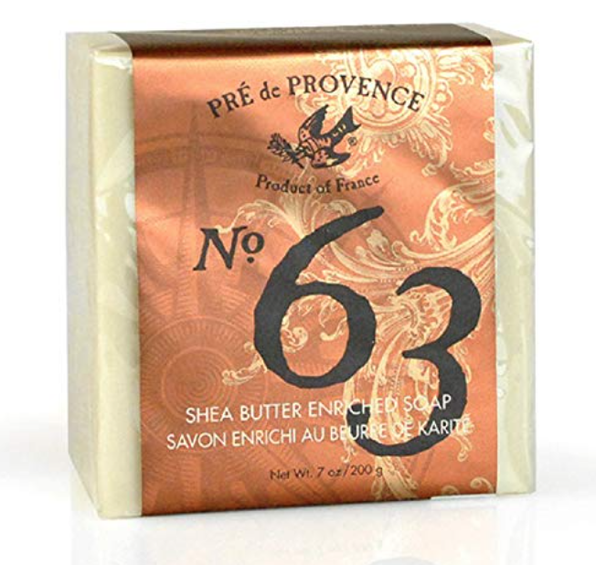 Pre de Provence No. 63 bar soap for men 7 ounce