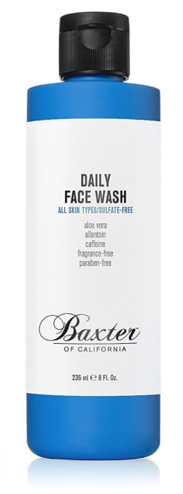 8oz bottle of baxter of california daily face wash for men