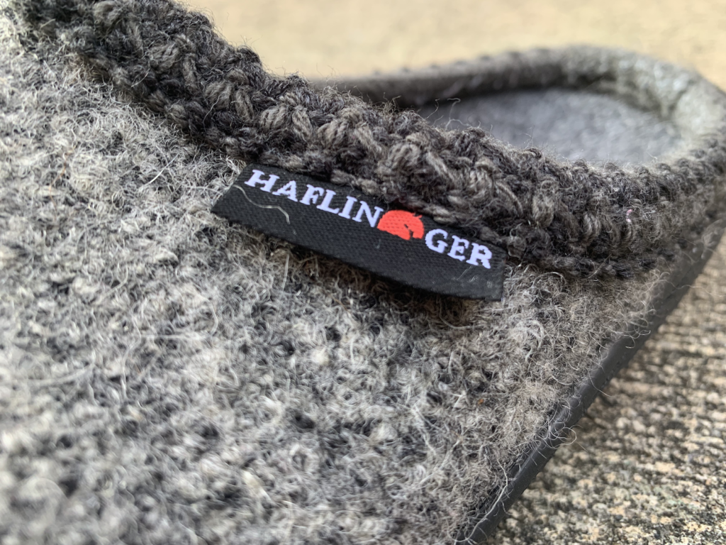 haflinger at classic hard sole tag view