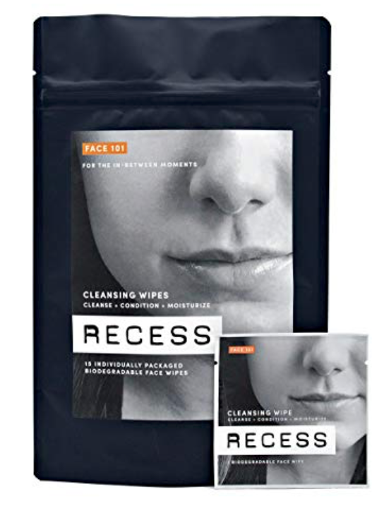 Pack of Recess Face 101 wipes