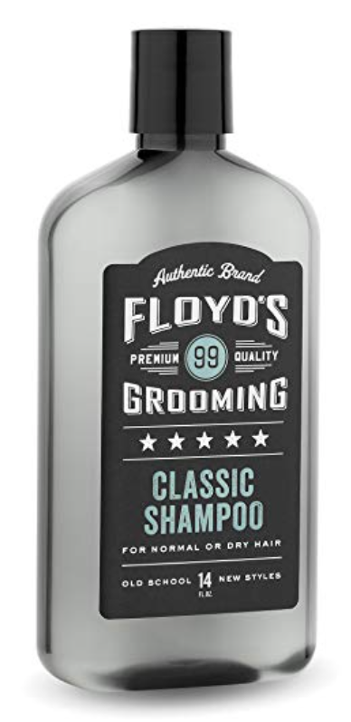 Bottle of Floyd's 99 classic Shampoo for men
