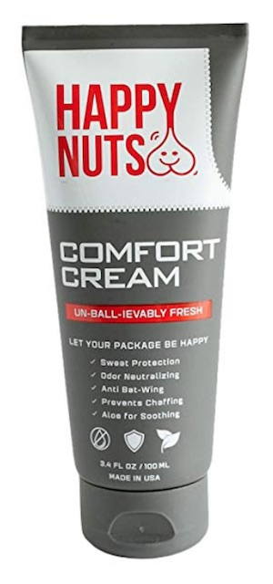 Tube of Happy Nuts ball deodorant for men - Best deodorant for men's balls