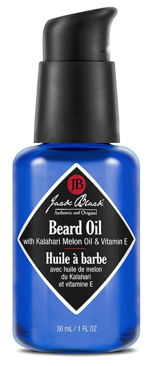 Bottle of Jack Black beard oil