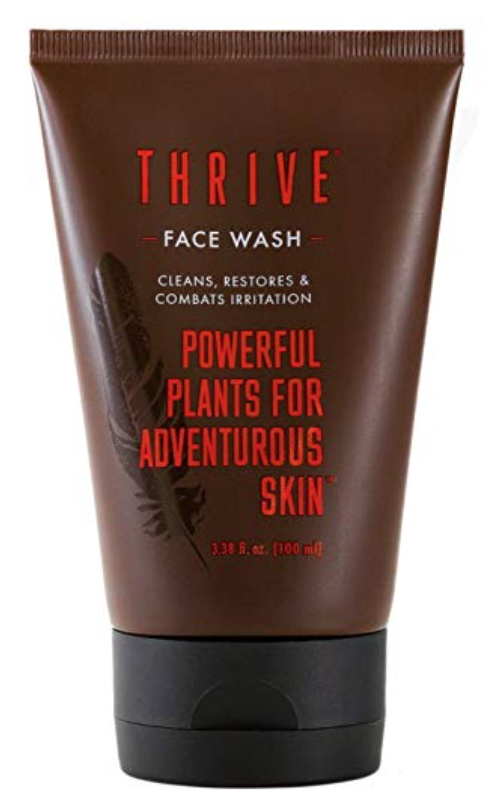 Tube of Thrive Daily Face Wash for men