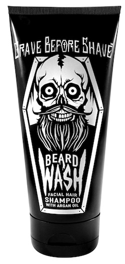 Tube of Grave Before Shave beard wash - best beard wash and shampoo for dandruff