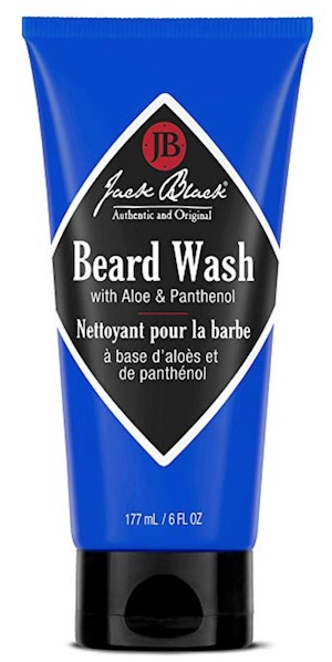 Tube of Jack Black beard wash - best beard wash and shampoo for dandruff