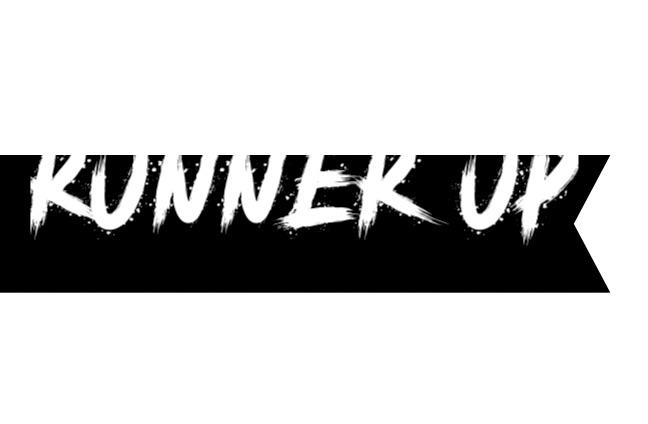 Runner up banner