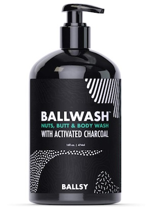 Bottle of Ballsy Ballwash - best soaps and washes for men's balls