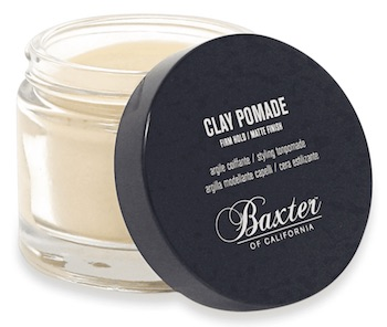 Jar of Baxter of California matte clay pomade