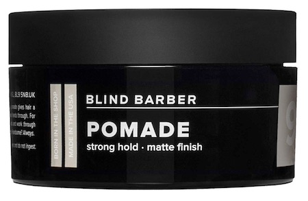 Jar of Blind Barber 90 Proof matte pomade