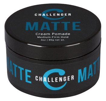 Jar of Challenger matte cream pomade