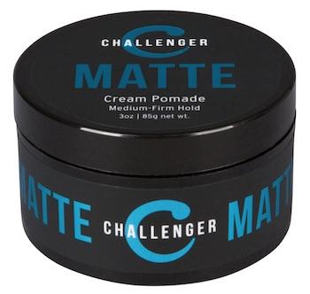 Jar of Challenger matte cream pomade